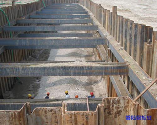 潜江钢板桩围堰