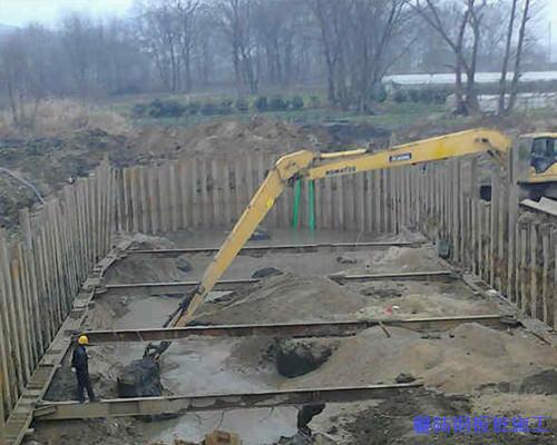 荆州钢板桩围堰