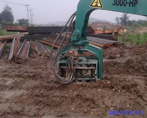 十堰拉森钢板桩施工