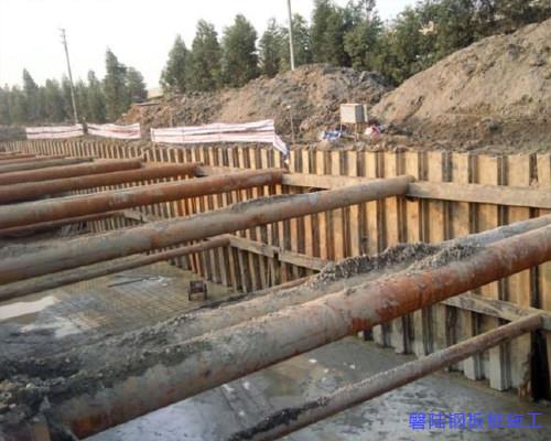 咸宁钢板桩支护