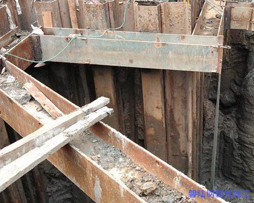 仙桃钢板桩施工