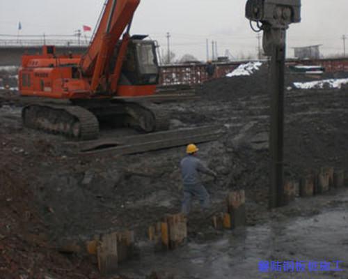 荆门拉森钢板桩施工