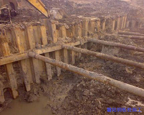 咸宁拉森钢板桩施工
