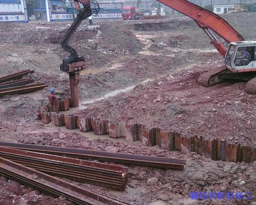 襄阳钢板桩施工