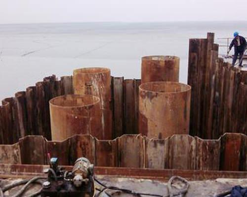 鄂州钢板桩围堰
