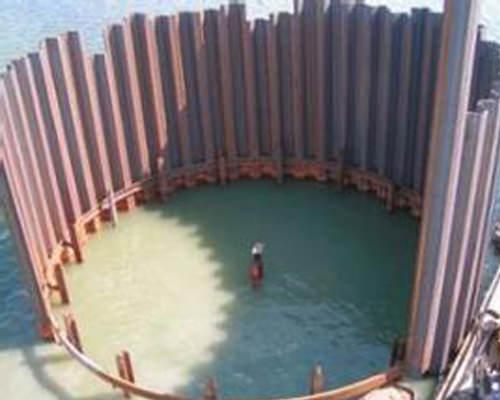 武汉钢板桩围堰施工